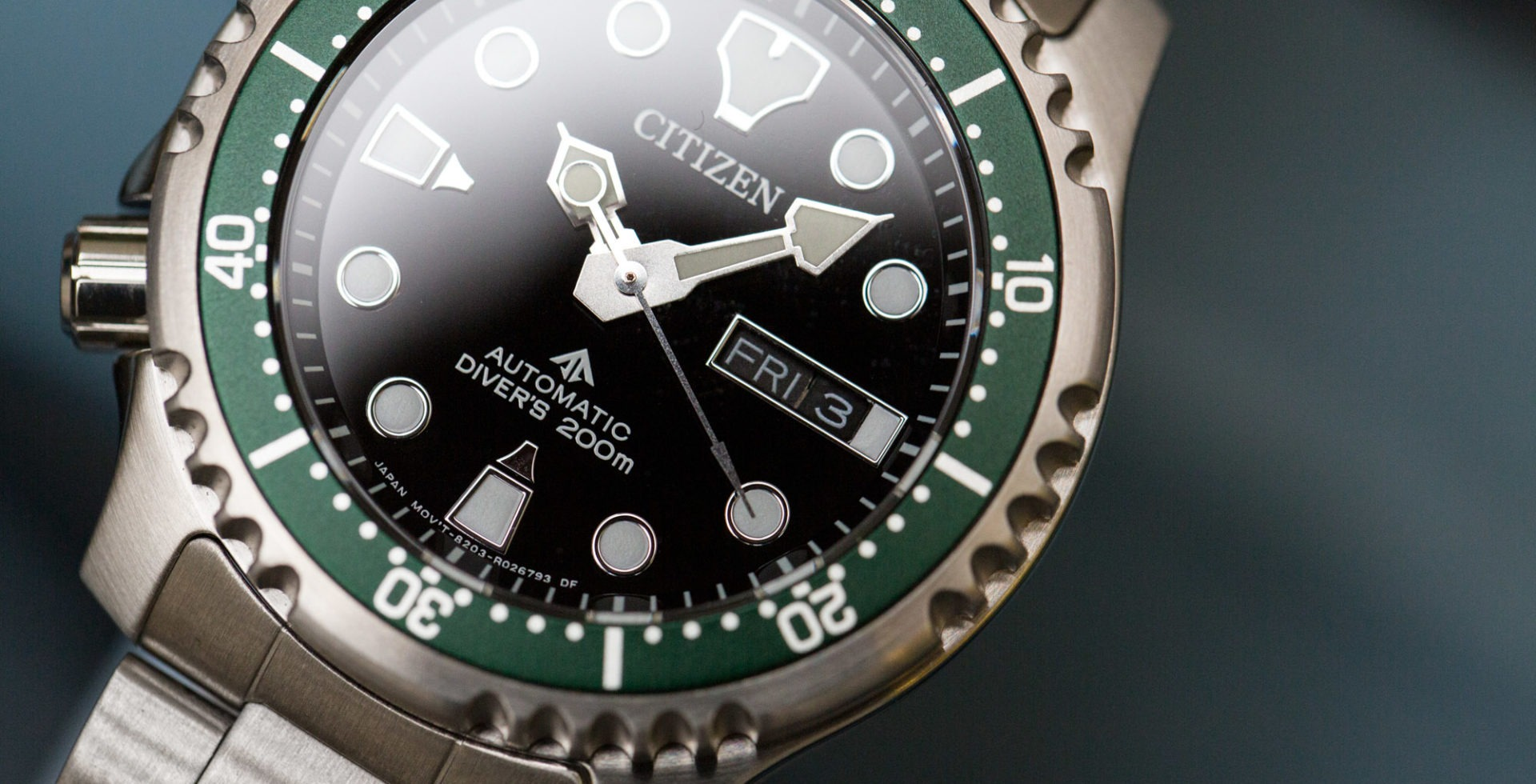 citizen promaster diver'S 200M