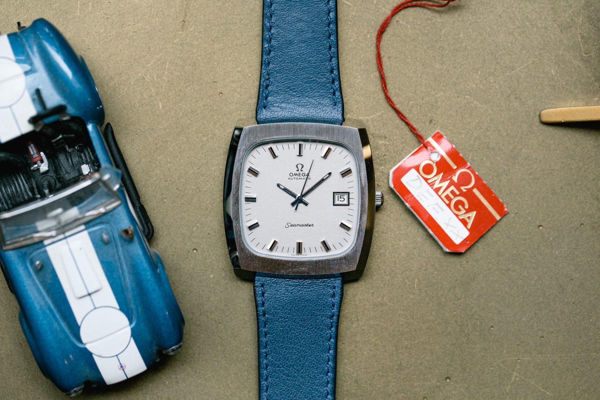 Omega Seamaster TV NOS ref. 166.0138 - Sélection de montres vintage chez Joseph Bonnie