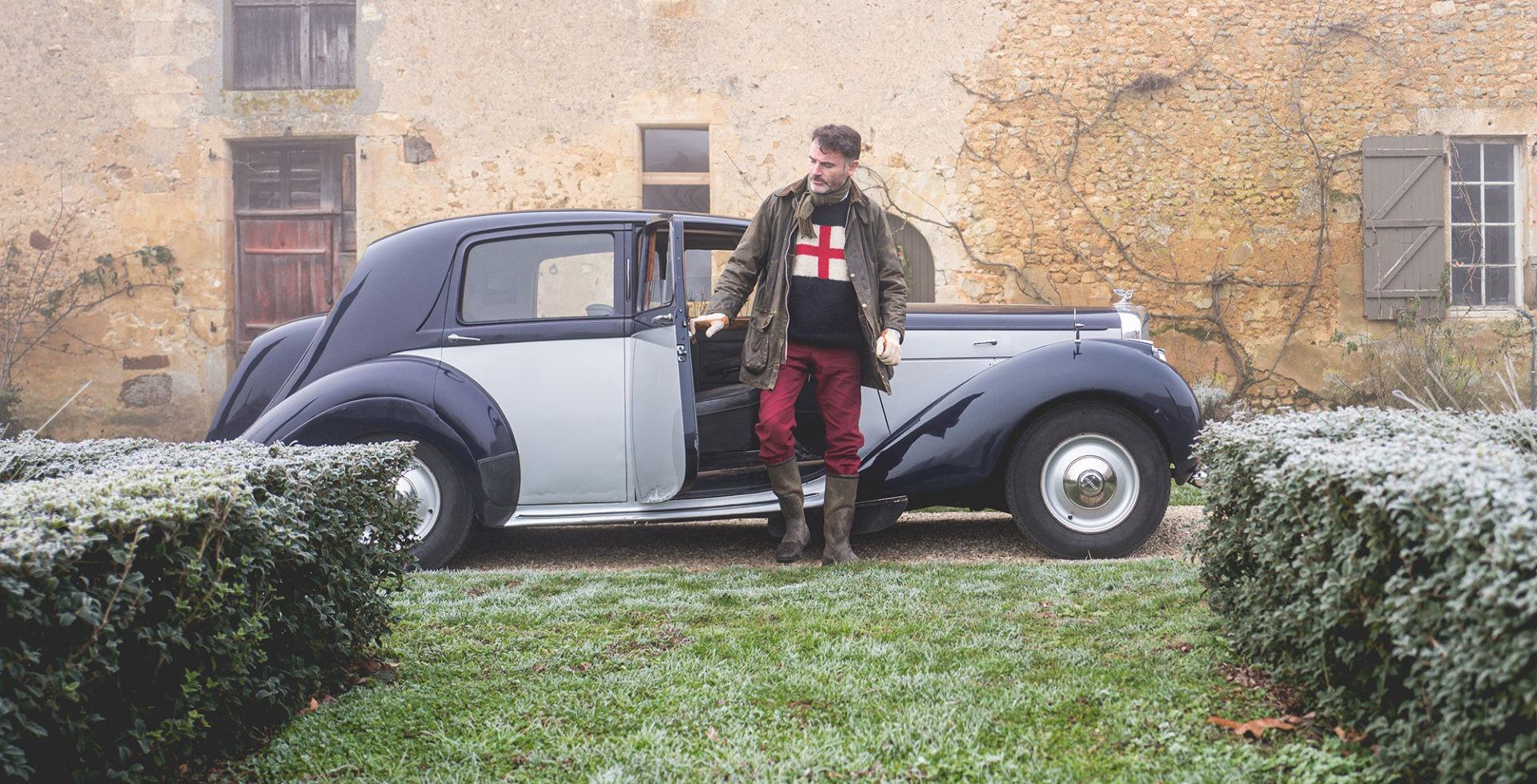 La Bentley du jardinier