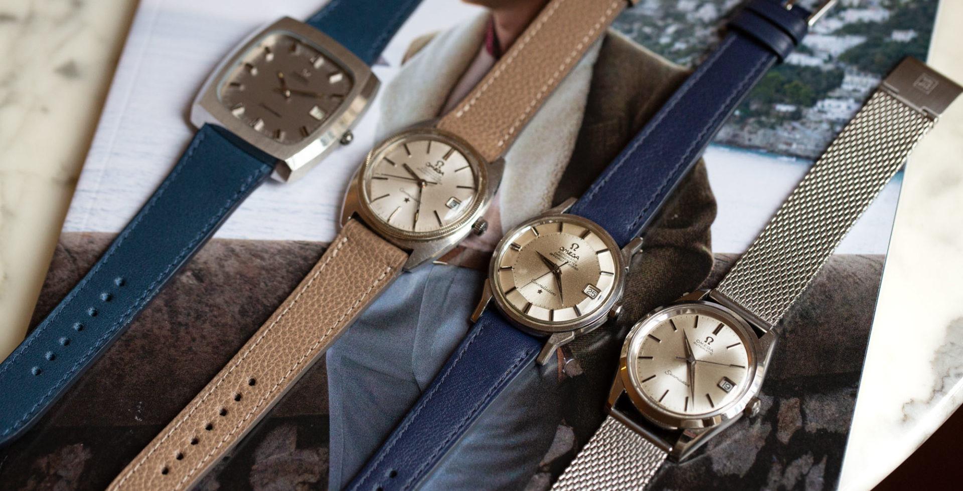 Omega - Sélection de montres vintage chez Joseph Bonnie