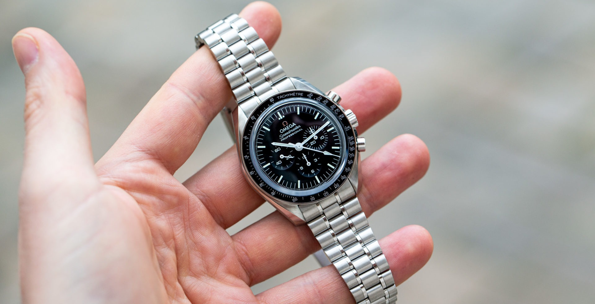 OMEGA SPEEDMASTER MOONWATCH Professional master chronometer