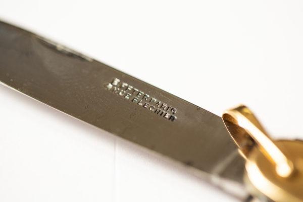 Couteau suisse en or 18k - Les objets Joseph Bonnie
