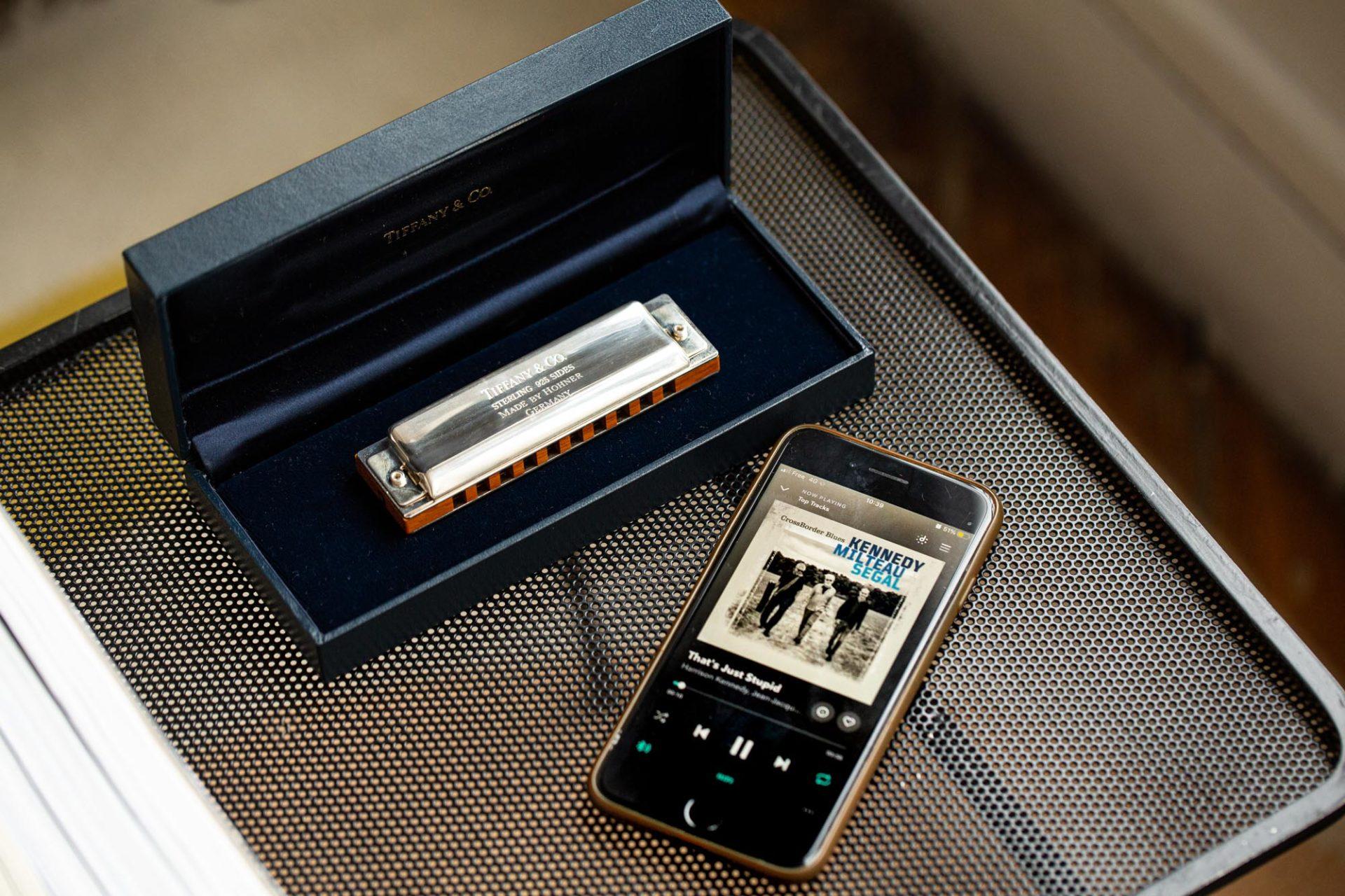 Tiffany & Co. - Harmonica - Les objets chez Joseph Bonnie