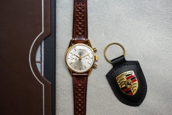 """Heuer Carrera 45 référence 3648S """"swiss only"""" - Sélection de montres vintage Joseph Bonnie"""
