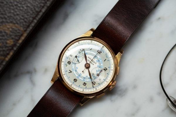 Chronographe Nicolet Genève - Sélection de montres vintage Joseph Bonnie