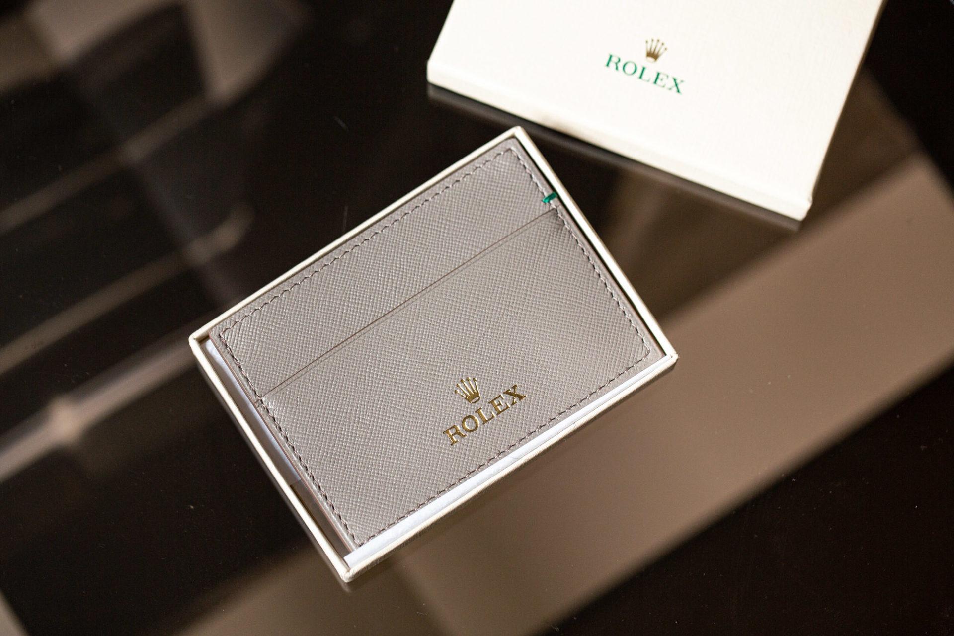 Porte-cartes Rolex - Sélection d'objets chez Joseph Bonnie