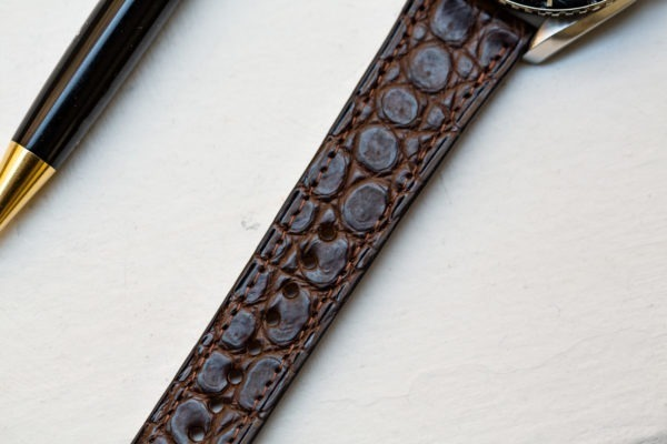Bracelet de montre en crocodile - Joseph Bonnie