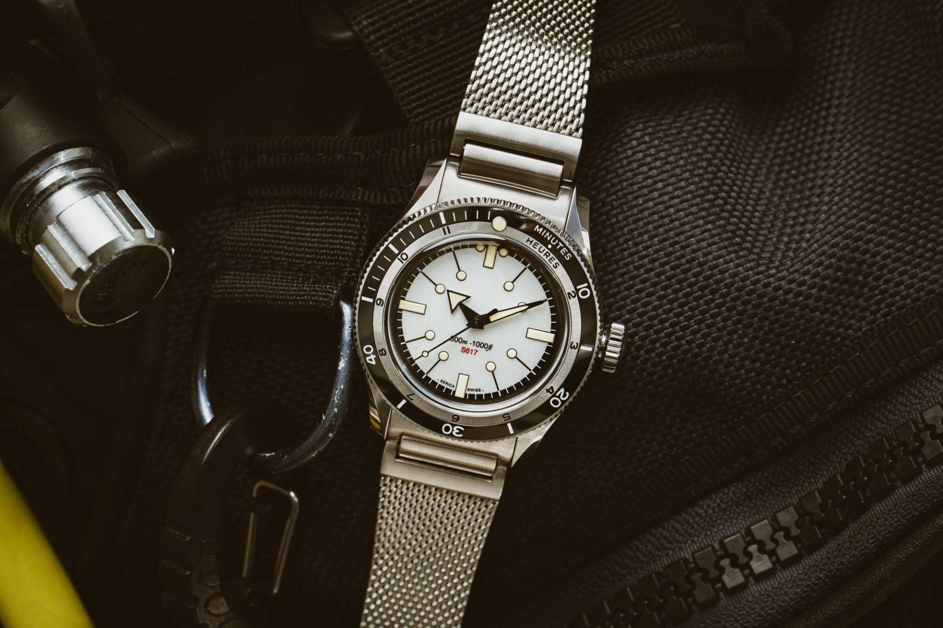 Serica 5303 - La nouvelle montre de plongée Serica