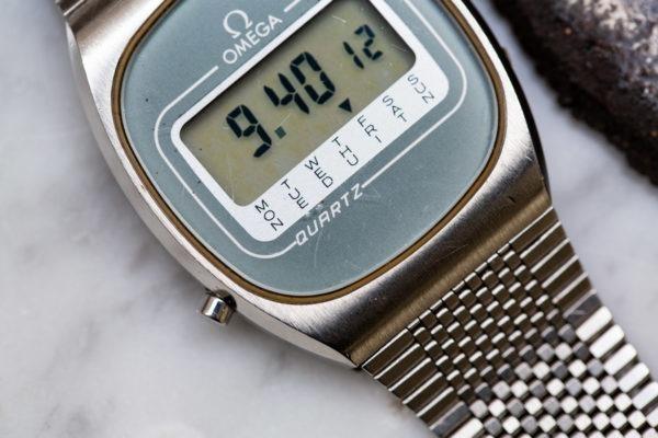 Omega LCD réf. 196.0074 - Sélection de montres vintage chez Joseph Bonnie
