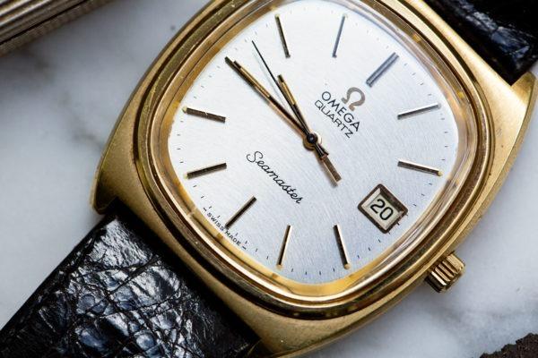 Omega Seamaster Quartz- Sélection de montres vintage chez Joseph Bonnie