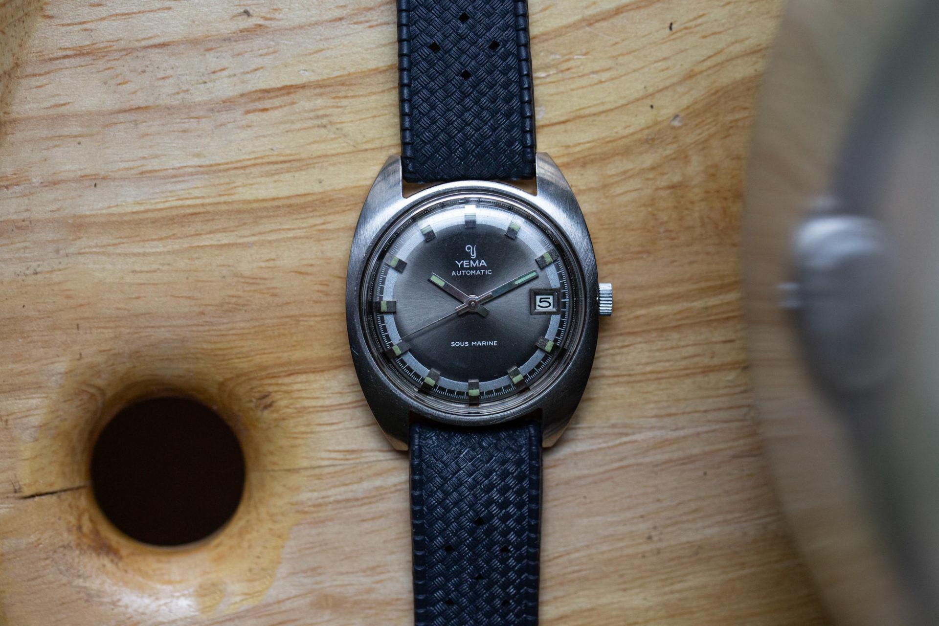Yema sous-marine - Selection de montres vintage chez Joseph Bonnie
