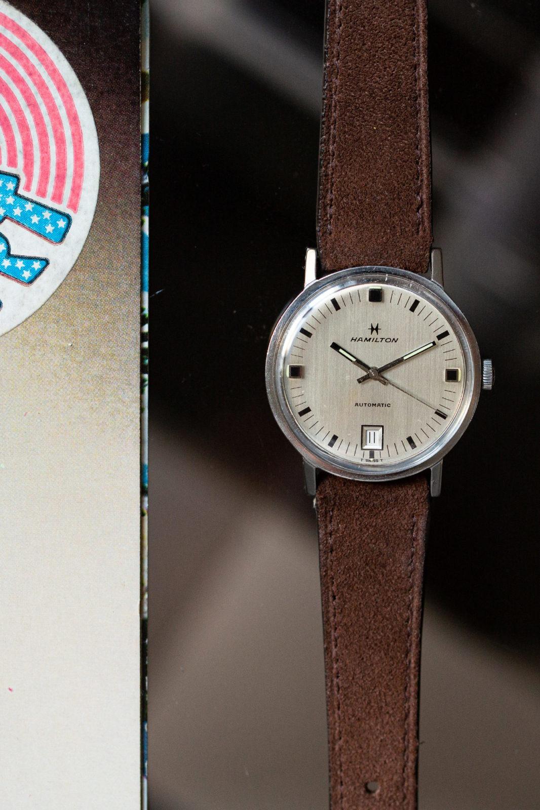 Hamilton Automatic Date - Sélection de montres vintage Joseph Bonnie