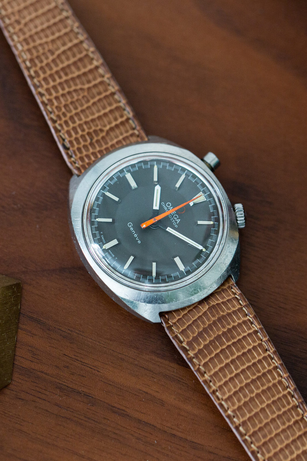 Omega Genève Chronostop - Sélection de montres vintage Joseph Bonnie