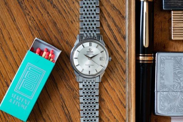 Omega Constellation Pie Pan Acier - Sélection de montres vintage Joseph Bonnie