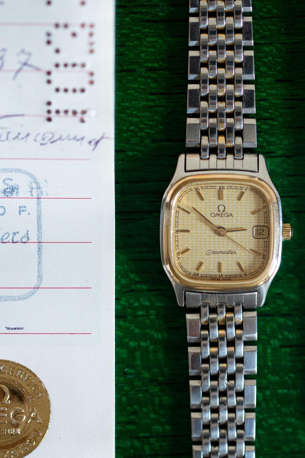 Omega Seamaster Quartz Lady - Sélection de montres vintage Joseph Bonnie