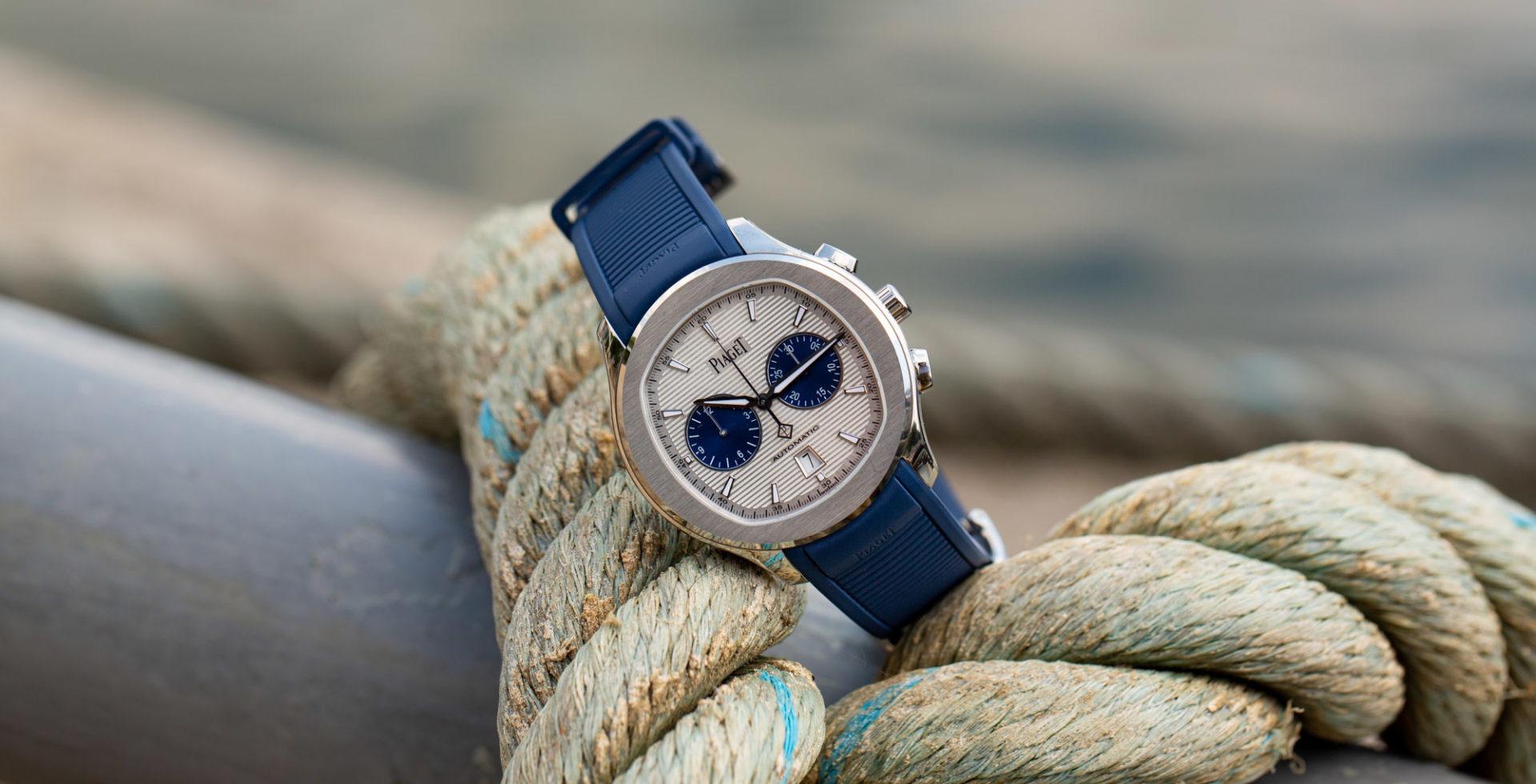 PIAGET polo PANDA chronographe