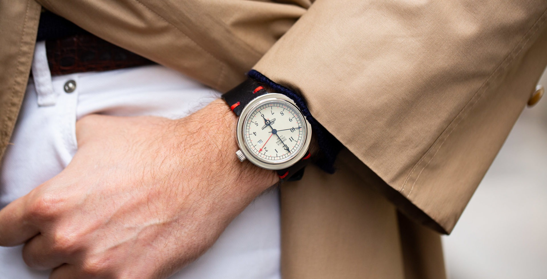 ALLEMANO TIME A 1919 SP GMT