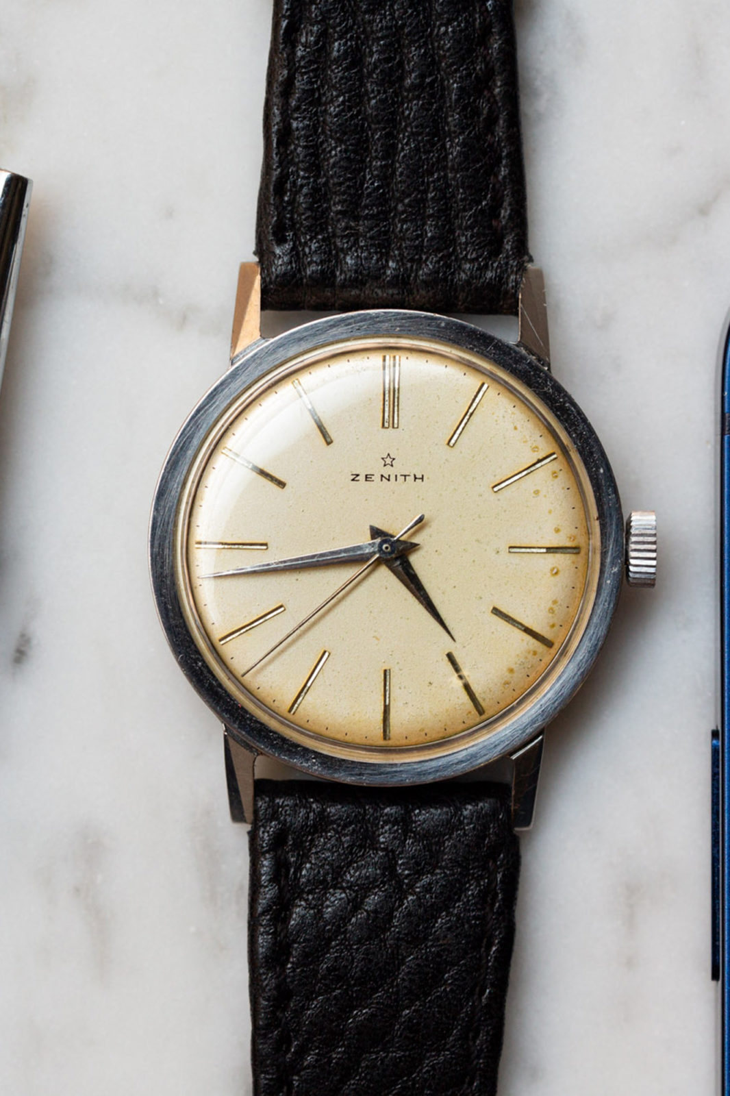 Zenith trois aiguilles - Sélection de montres vintage Joseph Bonnie