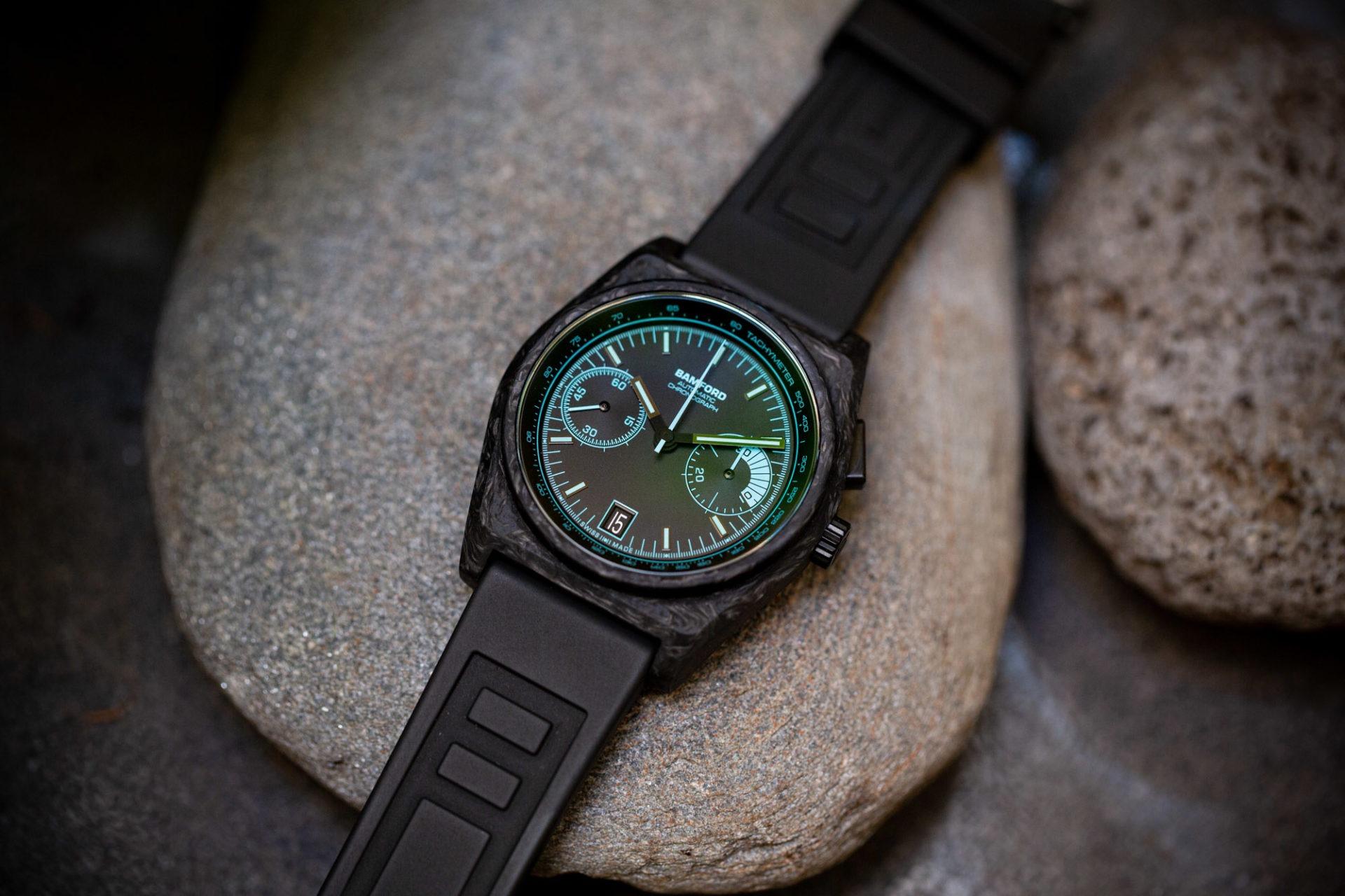 Bamford B347 chronographe mono-poussoir