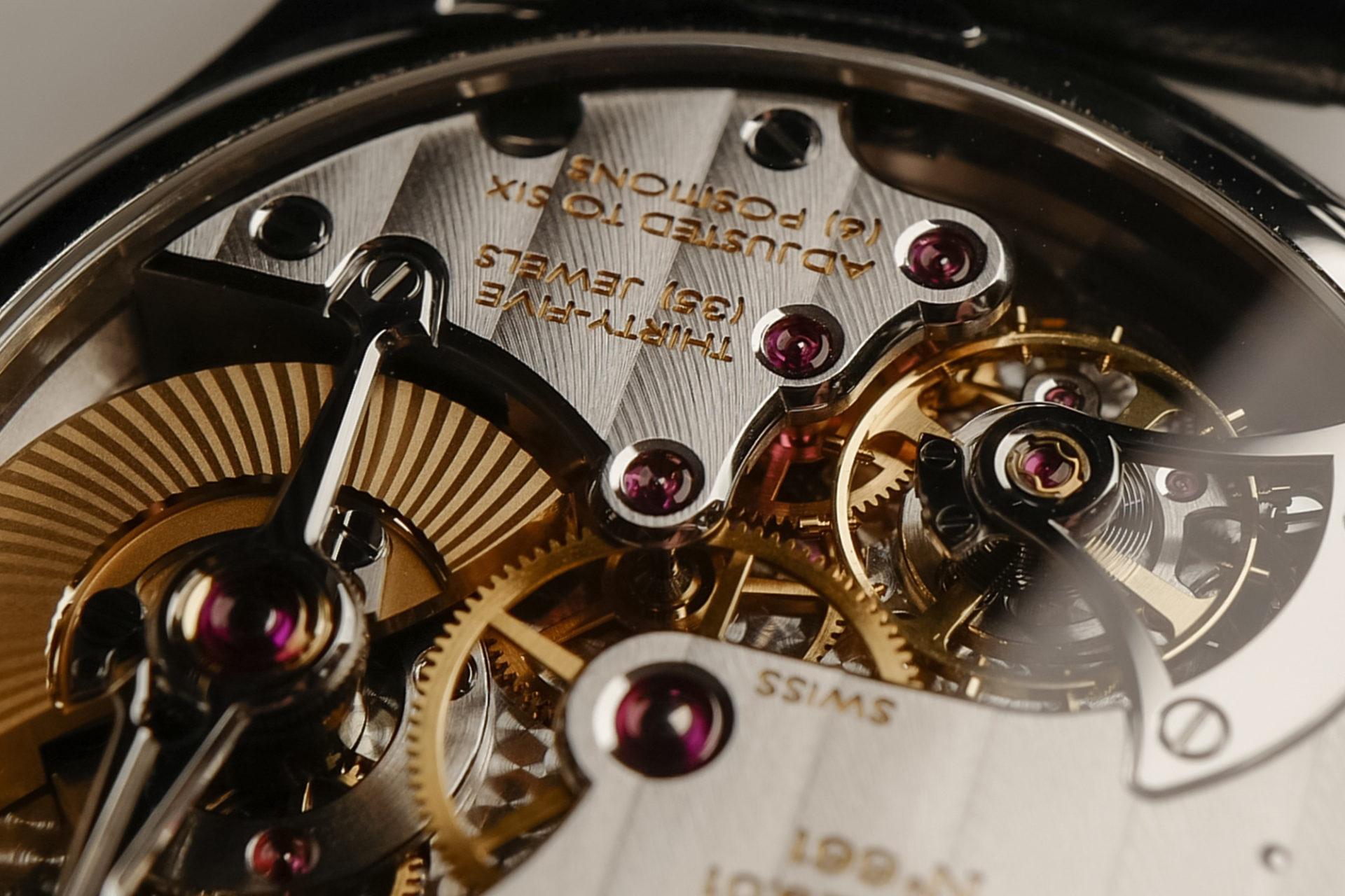 Laurent Ferrier et son mouvement à micro-rotor